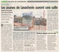 CHANTIER MAISON RURALE LAVACHERIE - COMMUNE DE SAINTE ODE