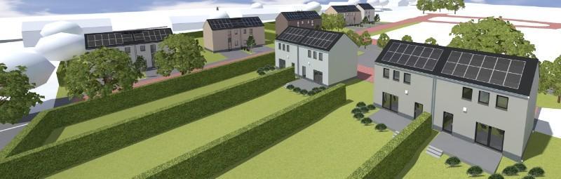 PROJET DE CONSTRUCTION DE 13 MAISONS PASSIVES NORD-LUXEMBOURG