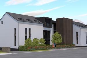 PROJET DE CONSTRUCTION D'UN IMMEUBLE DE 11 LOGEMENTS AU NORD-LUXEMBOURG