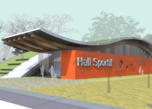 CREATION D'UN HALL SPORTIF ET ABORDS